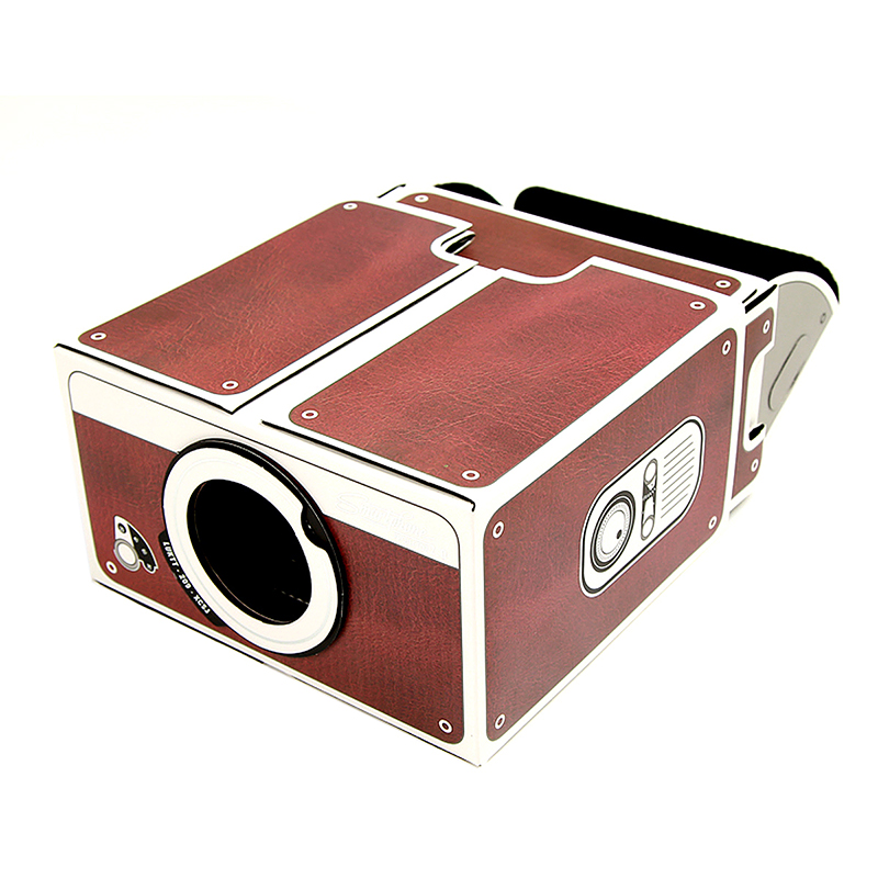 DIY SmartPhone Projector 2.0 Cinema In A Box Pre-assembled Practical Fun Gift