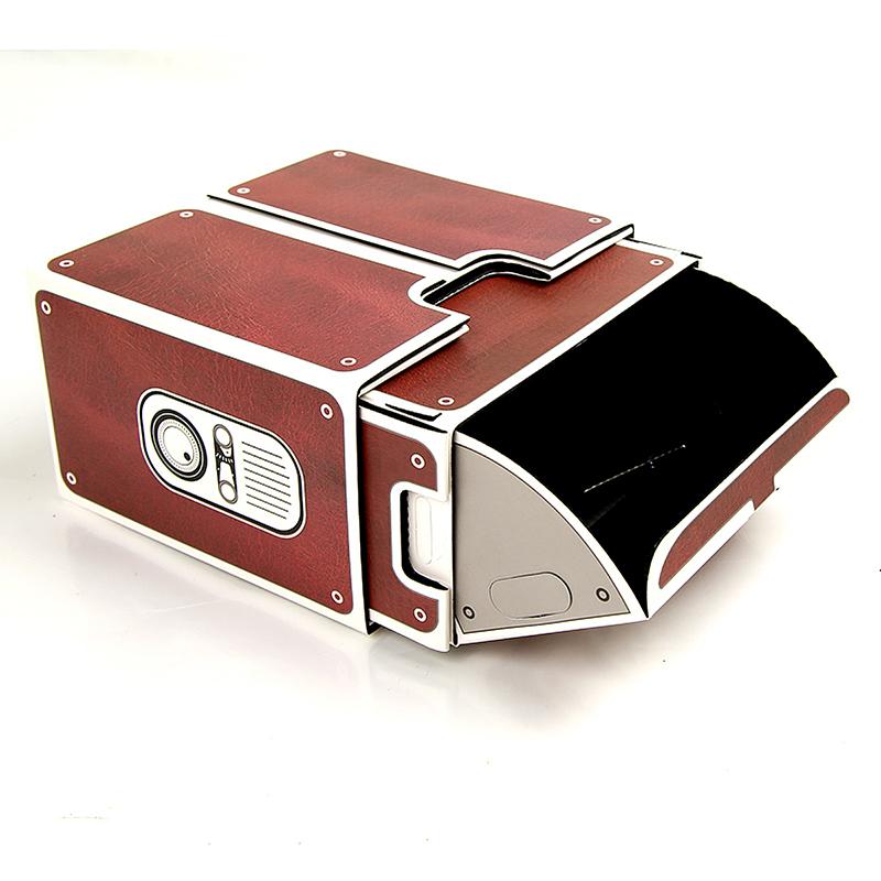 DIY SmartPhone Projector 2.0 Cinema In A Box Pre-assembled Practical Fun Gift
