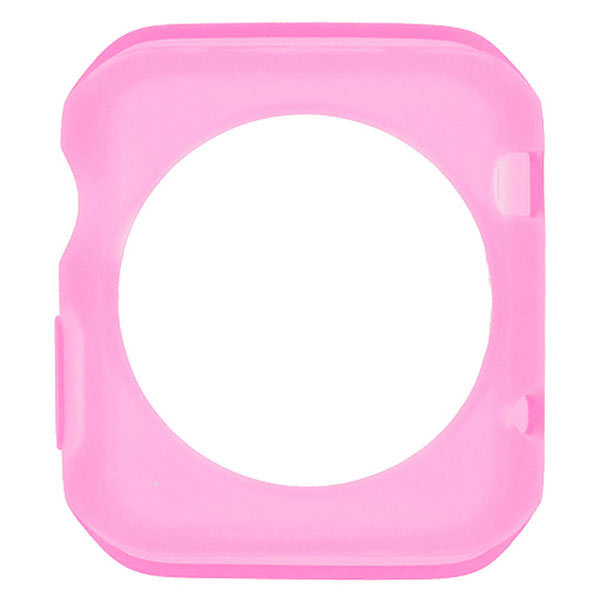 TPU Protective Case for Apple Watch 42mm - Pink