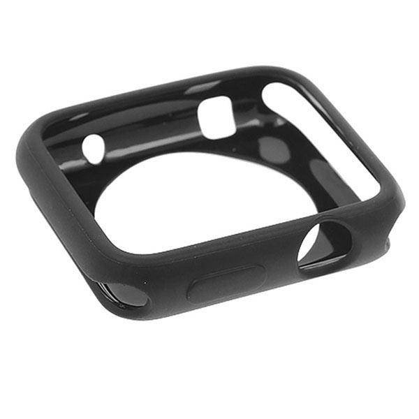 TPU Protective Case for Apple Watch 42mm - Black
