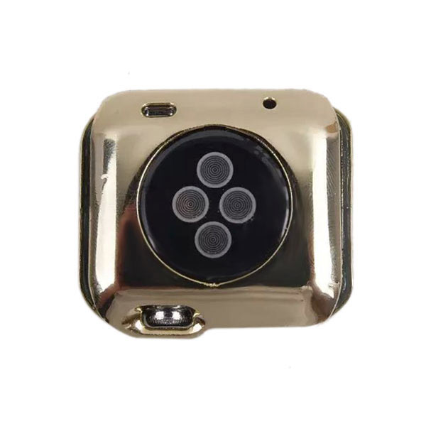 Protective Thin Metal Case for Apple Watch 38mm - Gold
