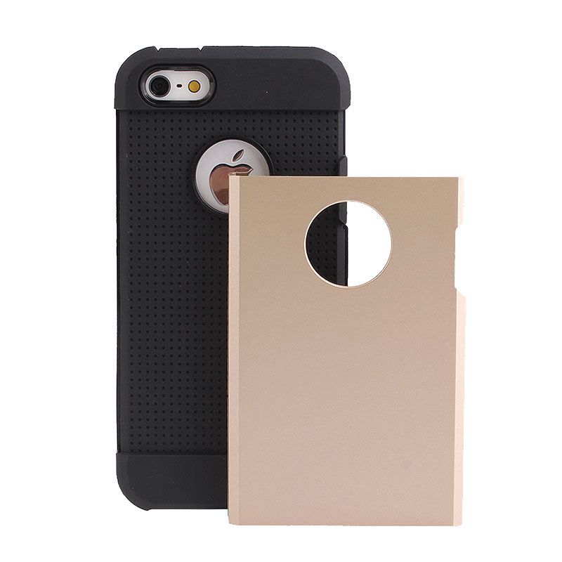 2-in-1 Armour Case Skin for iPhone 6 4.7 - Gold