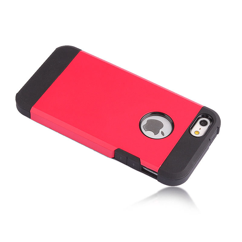 2-in-1 Armour Case Skin for iPhone 6 4.7 - Red