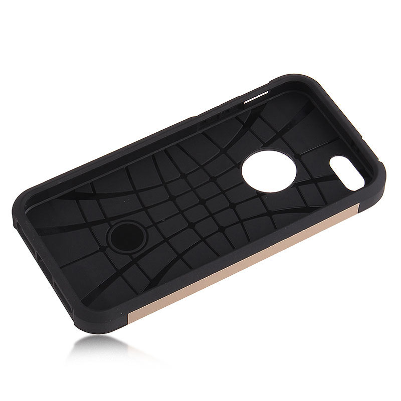 2-in-1 Armour Case Skin for iPhone 6 Plus 5.5 - Gold