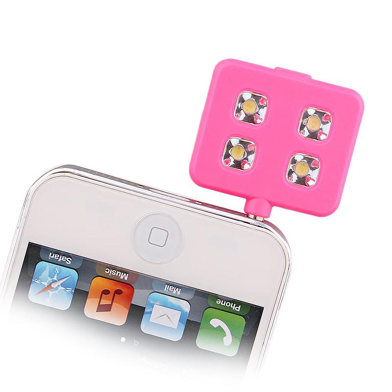 RK06 LED Night Using Selfie Enhancing Flash Light - Pink