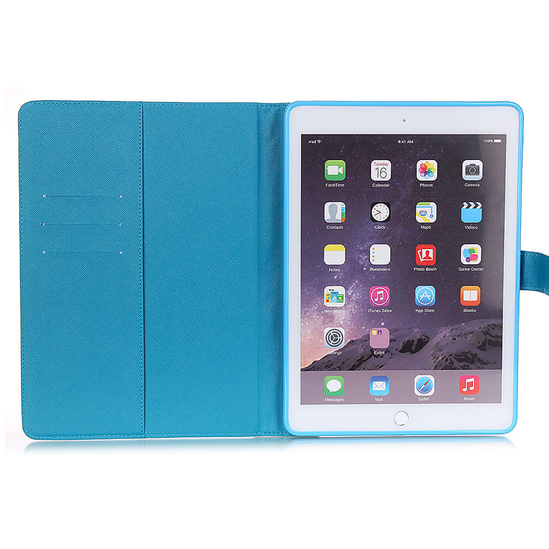 UP Balloon House Magnetic Stand Leather Case Cover for iPad 6