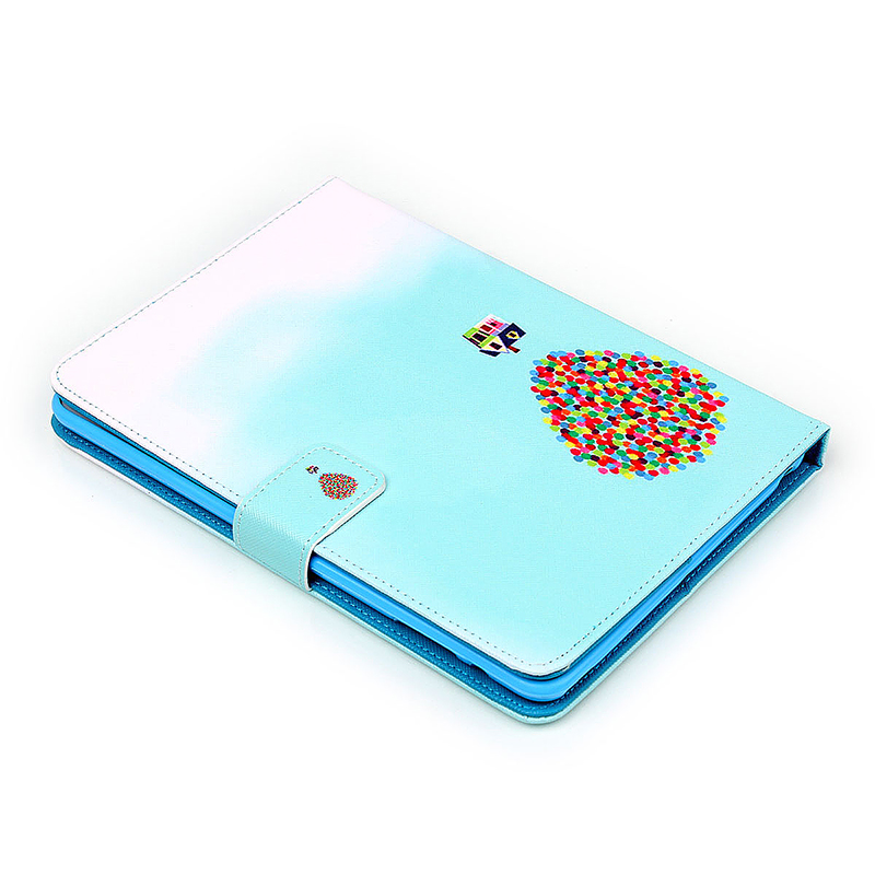 UP Balloon House Magnetic Stand Leather Case Cover for iPad Mini 1/2/3