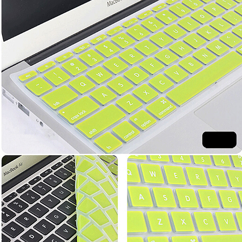 Ultra Thin TPU Silicone Keyboard Cover Protective Skin for MacBook - Green
