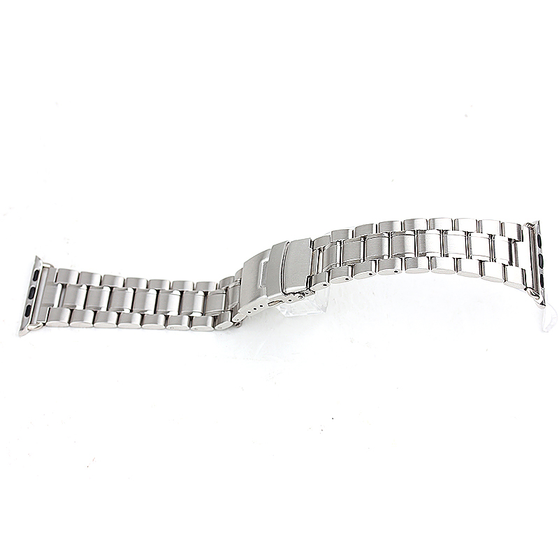 Stainless Steel Strap Watch Bands Belt for Apple Watch 42mm - Silver