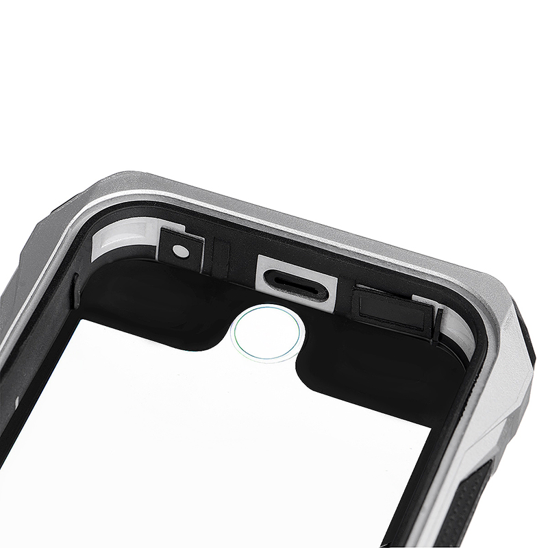 RIYO Waterproof /Dust proof / Shockproof  Case Cover Shell for iPhone 6 4.7 - Silver
