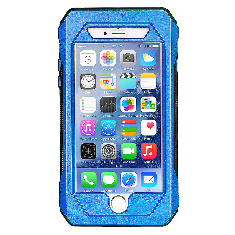 RIYO Waterproof /Dust proof / Shockproof  Case Cover Shell for iPhone 6 4.7 - Blue