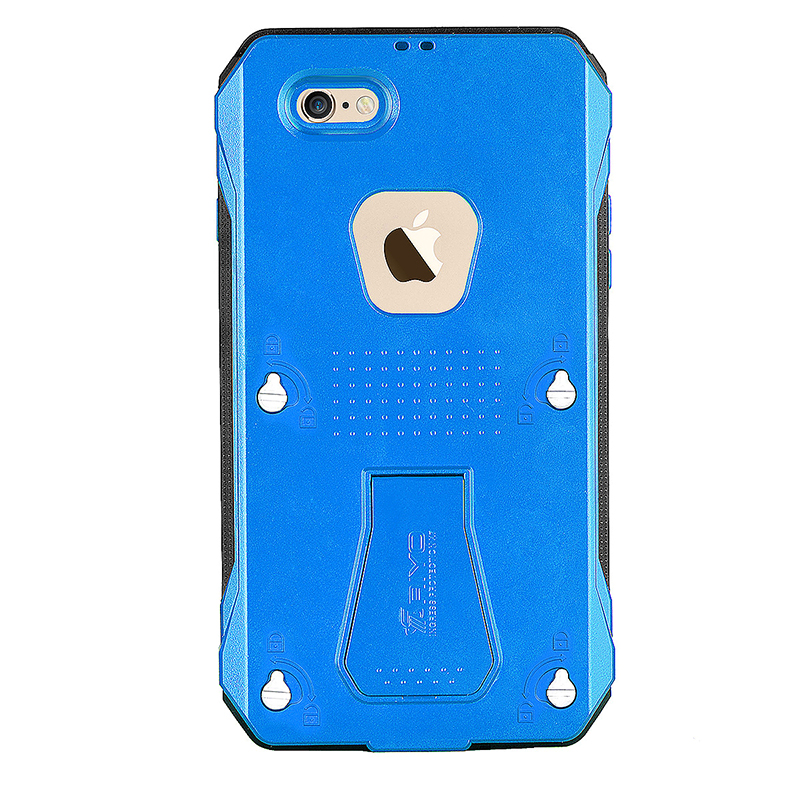 RIYO Waterproof /Dust proof / Shockproof  Case Cover Shell for iPhone 6 Plus - Blue