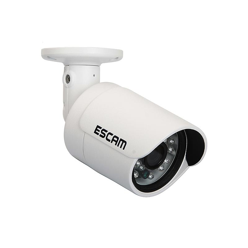 Escam QD310 Goblet 720P HD P2P Mini Waterproof IR-Bullet Surveillance Camera