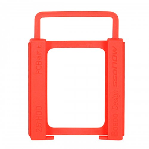 "2.5"" to 3.5"" SSD Hard Drive Silicone Stand Mounting Bracket Holder"