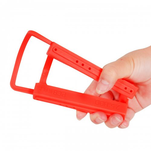 """2.5"""" to 3.5"""" SSD Hard Drive Silicone Stand Mounting Bracket Holder"""