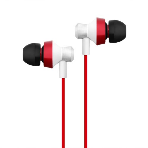 E106 In-Ear Base Stereo 3.5mm Earphone Earbuds with Microphone