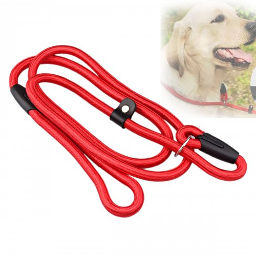 Small Dog Leash Pets Traction Rope Chains - Red