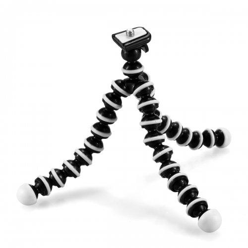 Gopro Flexible Mini Octopus Stand Bracket Holder Tripod - Black