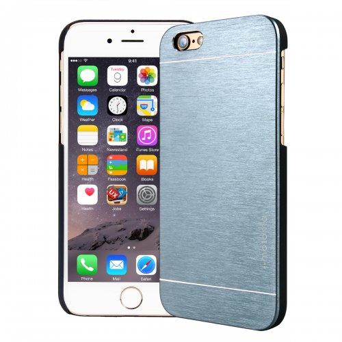 Motomo Metal Premium Luxury Brushed Aluminum Case for 5.5 Inch iPhone 6 Plus- Dark Gray