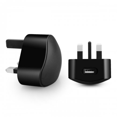 TC136 5V/1A USB travel charger--Black