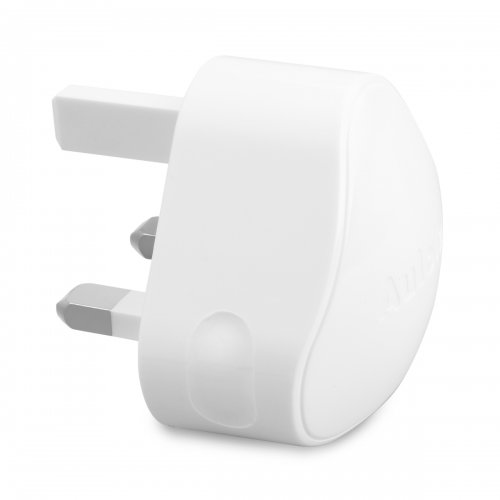 TH19 High Output 2.4A Dual USB UK Plug AC Power Adapter- White