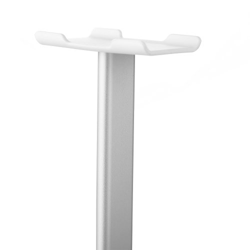New Bee Universal 195mm I-shape Headphone Stand Display Holder - Silver