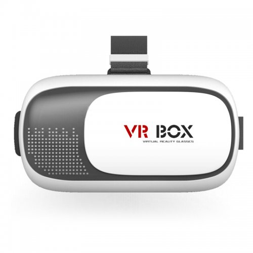 3D VR Box 2nd Virtual Reality Glasses Cardboard Movie Game for Samsung IOS iPhone (not original)