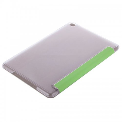 Slim PU Leather Magnetic Tri-Fold Smart Stand Cover Case for iPad Mini 1/2/3 - Green