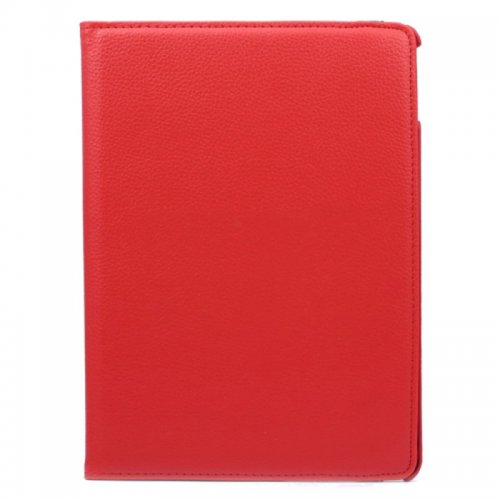 360 degree Rotating PU Leather Flip Stand Case Cover Skin for iPad Air 2(iPad 6) - Red