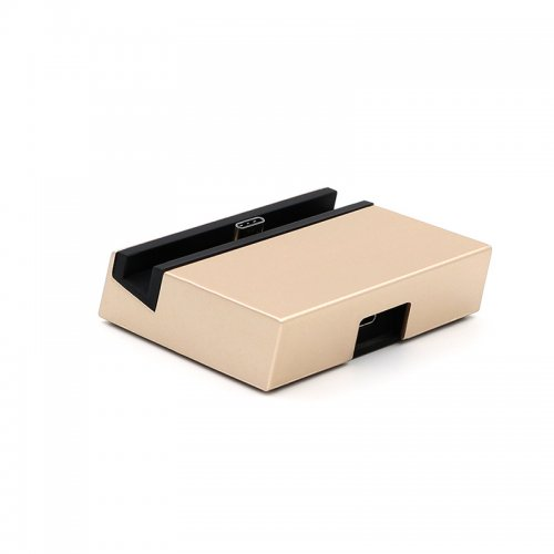 USB 3.1 USB to Type-C Dock Charger Charging Desktop Cradle Station for Mobile Phones - Golden