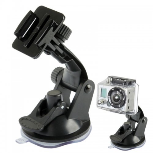 Car Mount Dashboard & Windshield Vacuum Sucktion Cup for GoPro Hero 4/3/3/2/1