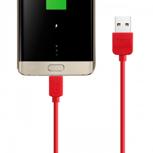 Red 1M Meter Long USB Charger Cable For Samsung Galaxy S2 II i9100 S3 III i9300 Note