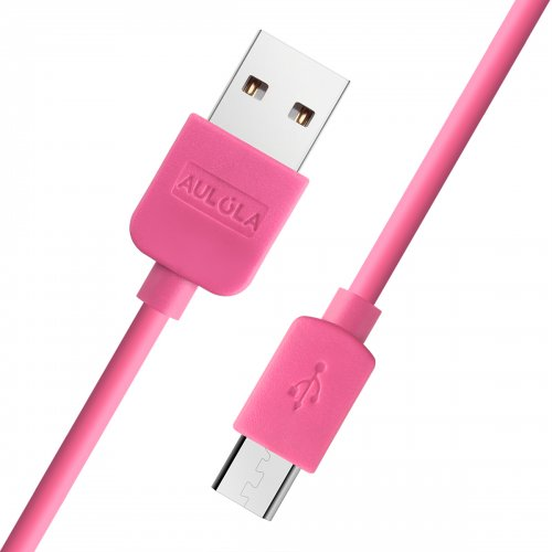2 Meter Long Micro USB Charging Cable for Samsung Galaxy S2/S3- Pink