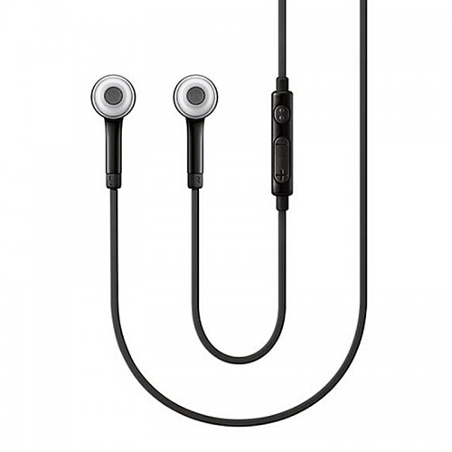 In-Ear Stereo Earphone With Volume Control - Black