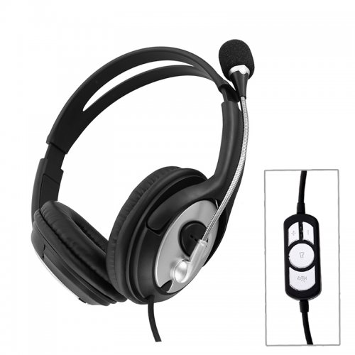 OV-Q2 USB 2.0 Computer Headset Headphone with Microphone
