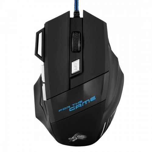 New Version DPI 7 Buttons Colorful USB LED Optical Wired Gaming Game Mouse Mice