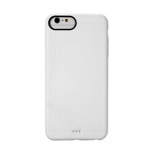 Fashion Soft TPU Honeycomb Style Phone Cover Case for iPhone 7 - White