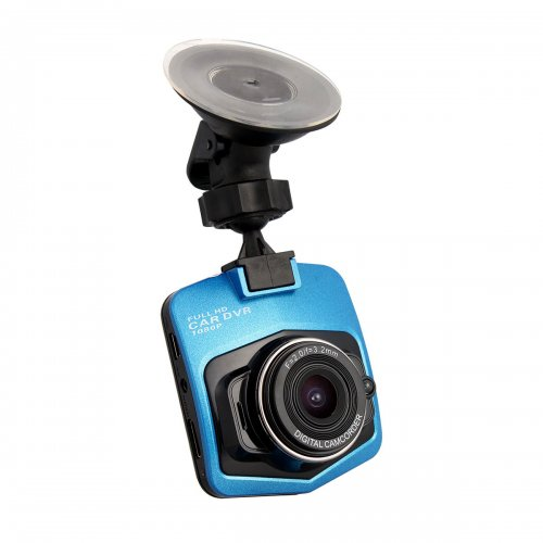 1080P Car Tachograph DVR Car Dashboard Camcorder Camera with IR Night Vision Built-in Battery