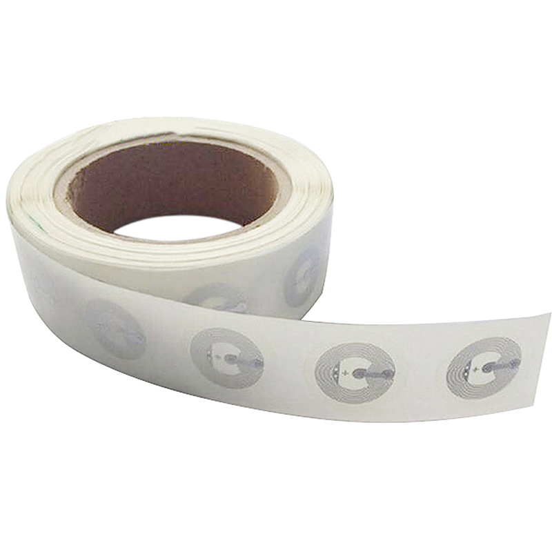 1PCS NFC Tags NTAG213 Clear Stickers RFID Package Labels (1 Roll=1000lbls)