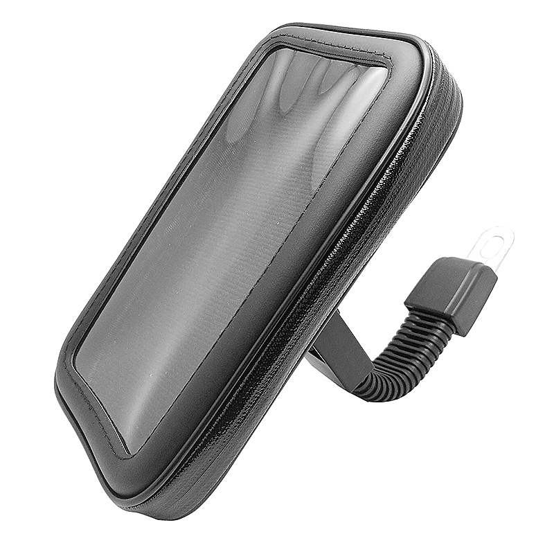 Motorcycle Tube Frame Waterproof Bag with Phone Screen Touch Holder Size S