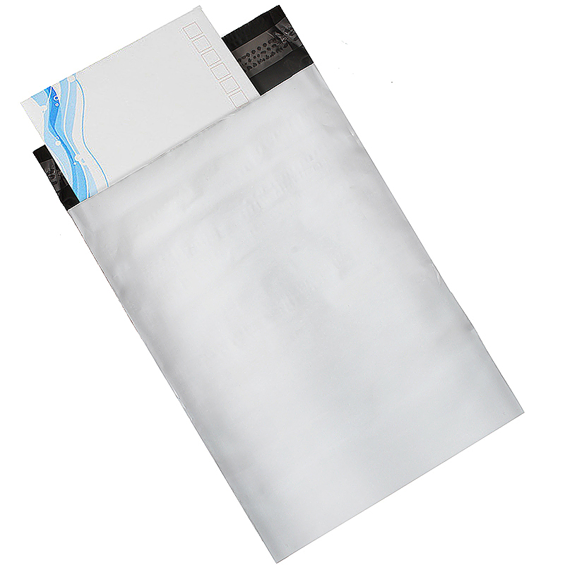 13 * 20cm Simple Mailers Seal Poly Postage Mailing Bag Envelopes - White
