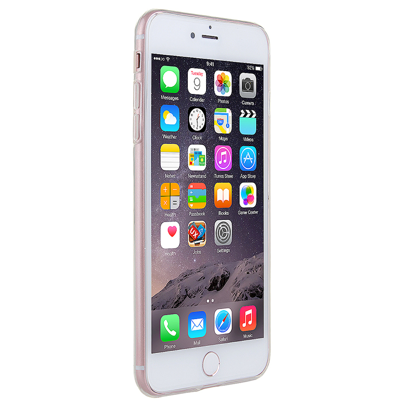 Transparent Soft Phone Cover Case for iPhone 7 Plus