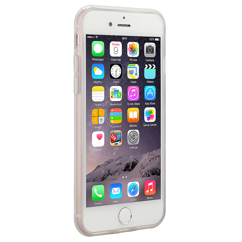 Fashion TPU Soft Protective Phone Cover Case for iPhone 7 - Beard