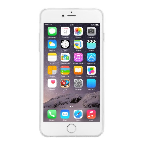 Full Cover Hard PC Transparent Clear Phone Back Case for 4.7 Inch iPhone 6