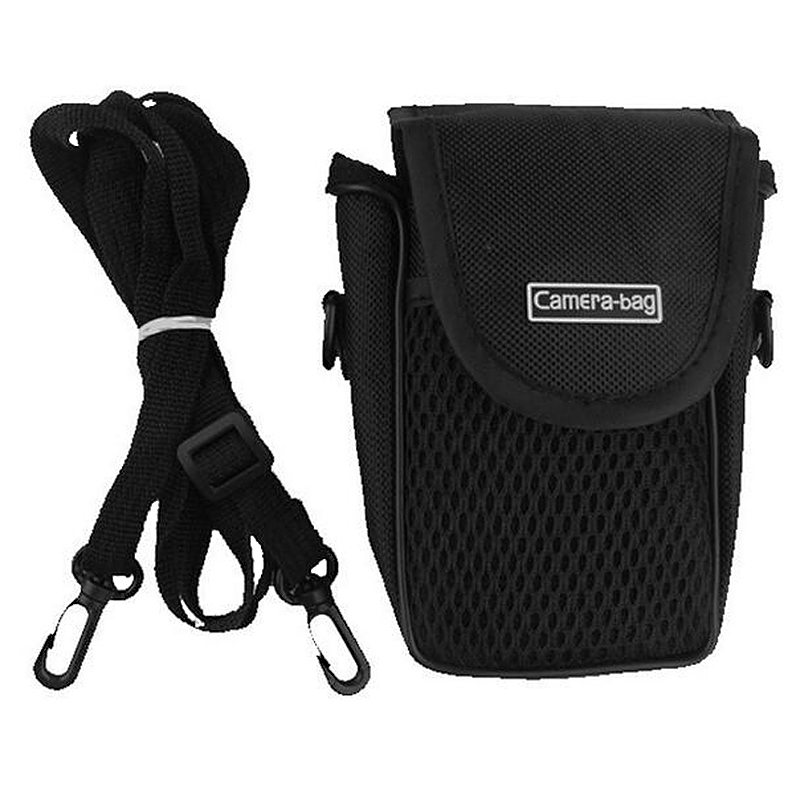 Universal Digital Camera Case Soft Bag with Strap for Sony Nikon Size S