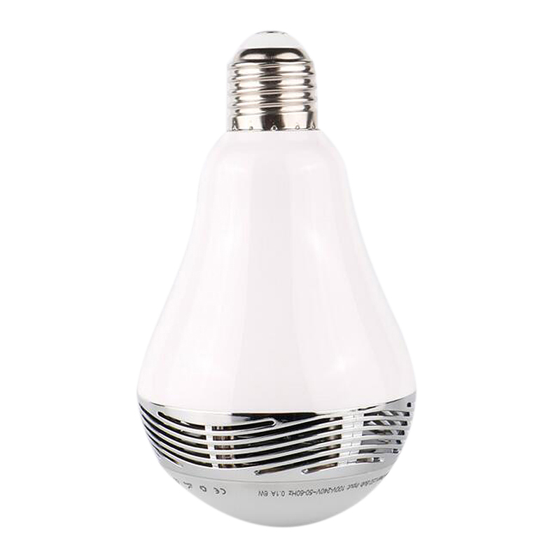 Bluetooth Colorful LED Light Bulb Music Loud Speaker with Remote Control