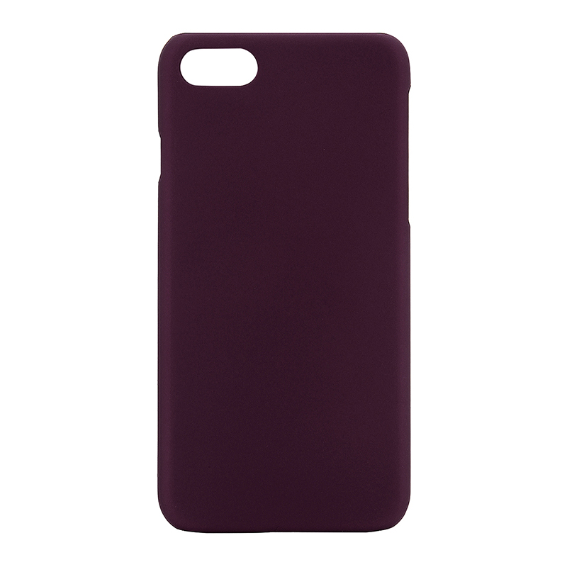 Multicolor Frosted Hard PC Protective Back Phone Case for iPhone 7 - Purple