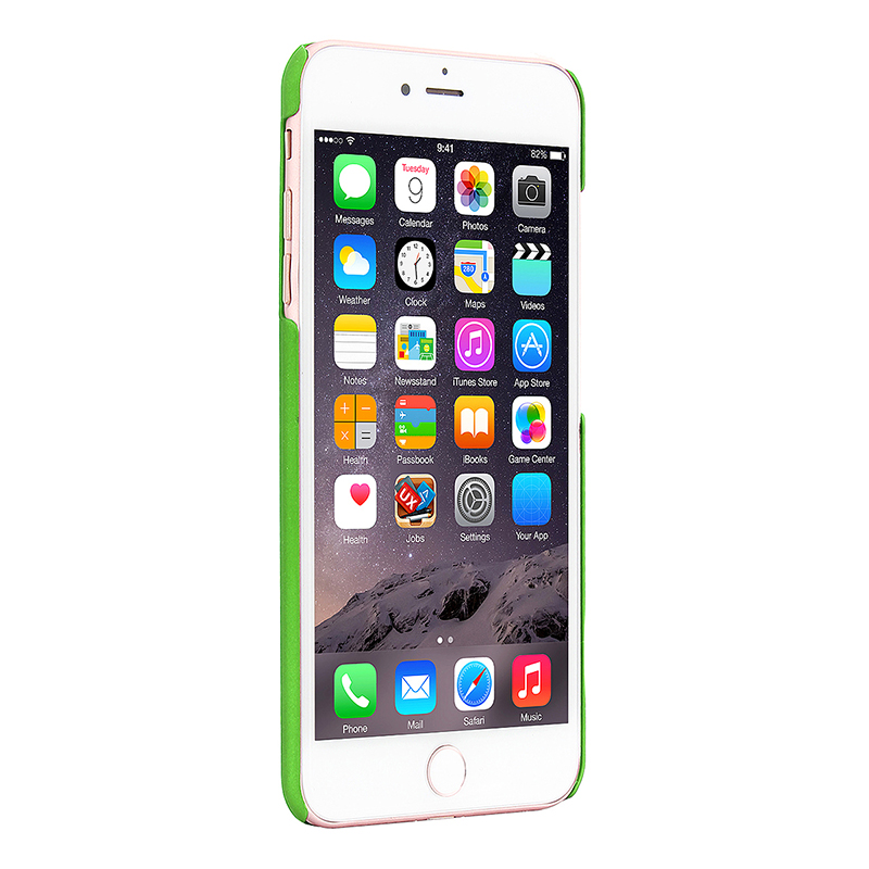 Multicolor Frosted Hard PC Protective Back Phone Case for iPhone 7 - Green