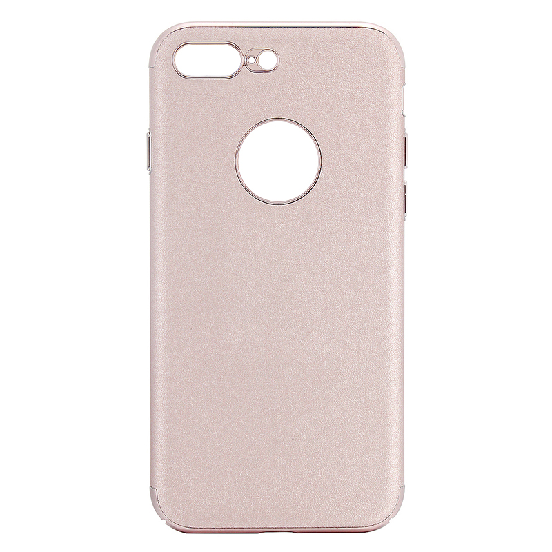 Luxury Hard PC Protective Back Phone Case Cover for iPhone 7 - Rose Gold