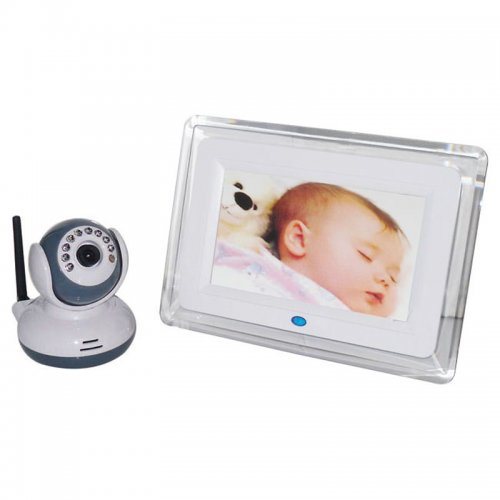 7inch Baby Safety Monitor Wireless Digital 2 Talk-way Camera with Night Vision